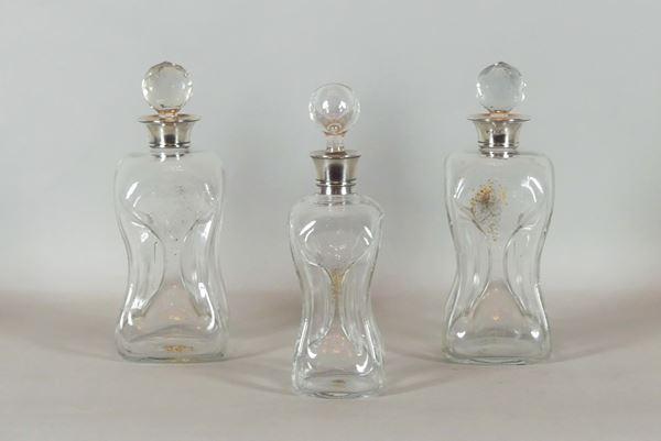 Three English bottles Edward VII
