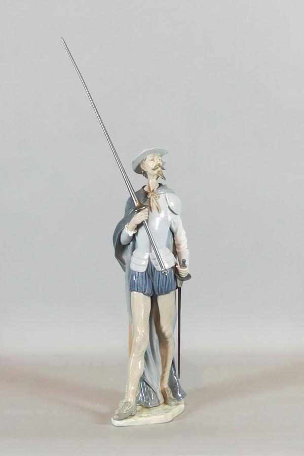 "Small Sculpture ""Don Quixote"""