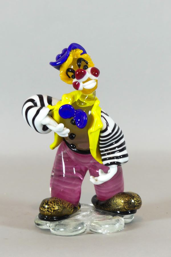 "Small ""Clown"" Sculpture"
