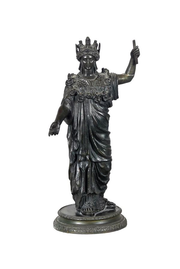 """Bronze sculpture """"Justice"""""""