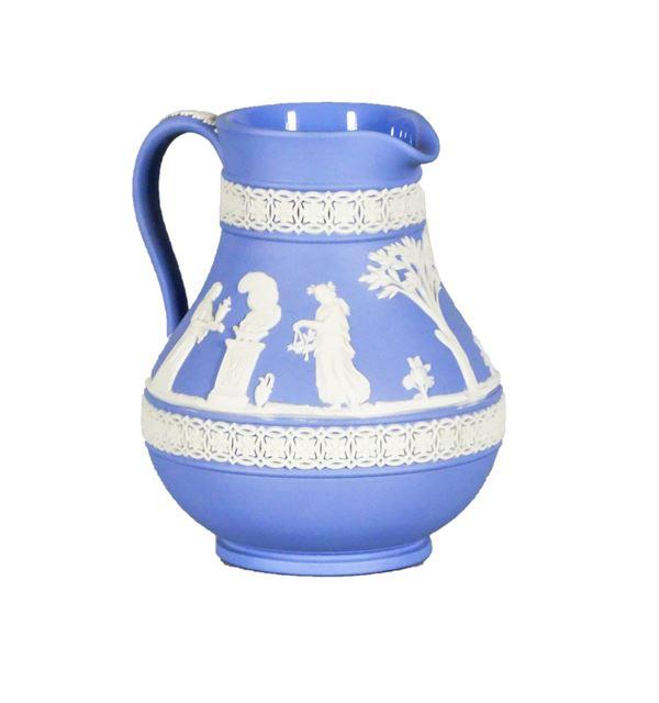 Light blue Wedgwood ceramic jug