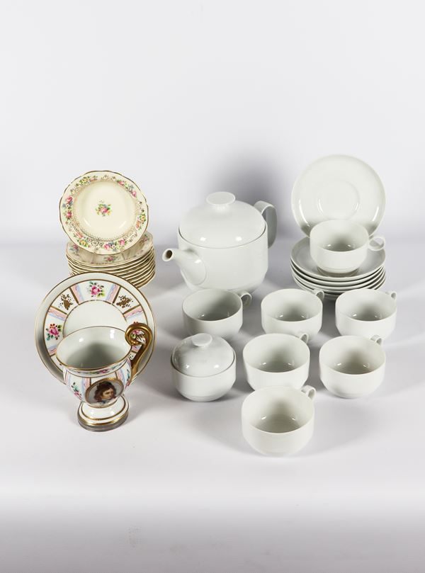 Porcelain lot (21 pcs)
