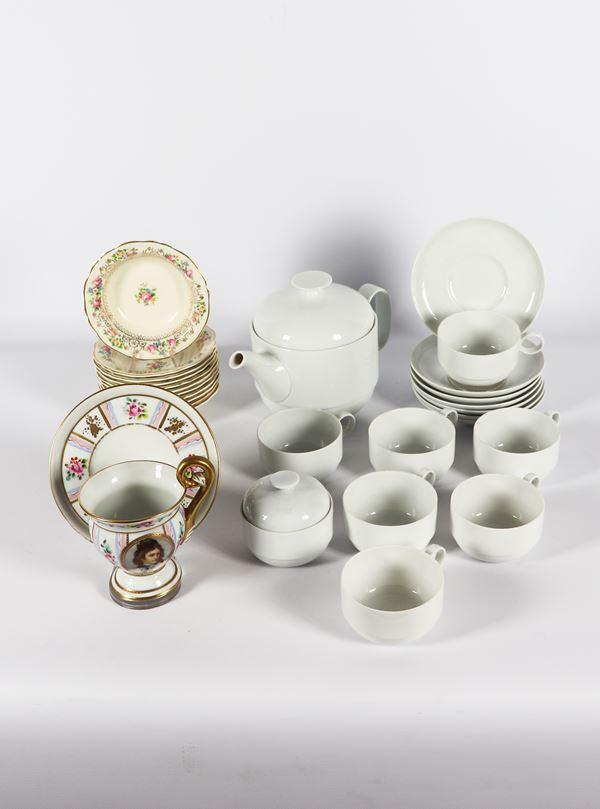 Porcelain lot (21 pcs)