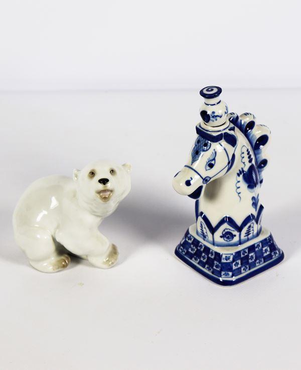 Porcelain lot (2 pcs)