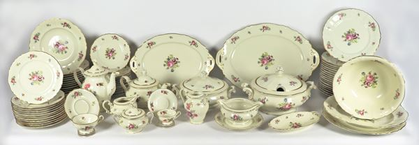 Pirken Hammer porcelain plate service (113 pcs)