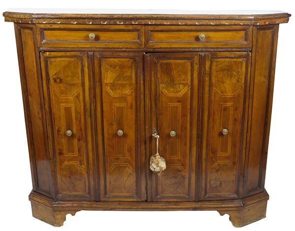 Antique Venetian sideboard of the Louis XIV line in walnut
