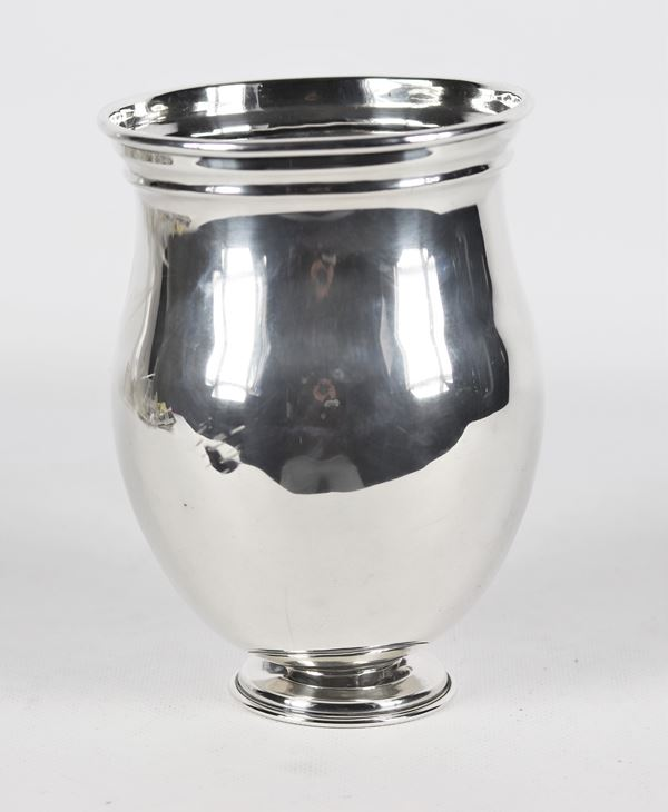 Vase in sterling silver 925 gr 470