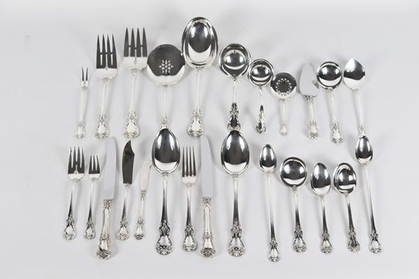 Towle Sterling 925 silver cutlery set (118 pcs) gr 3570
