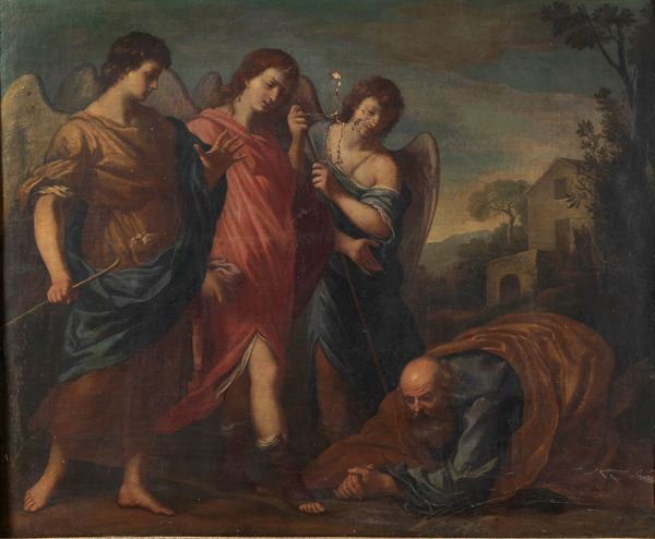 """""""The visit of the Angels to Abraham"""""""