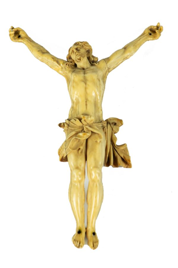 Christ in carved ivory