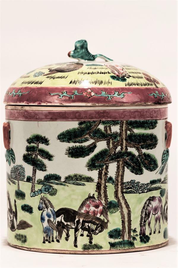 Porcelain lunch box