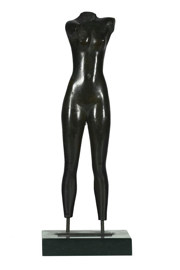 "Bronze sculpture ""Nude of a woman"""