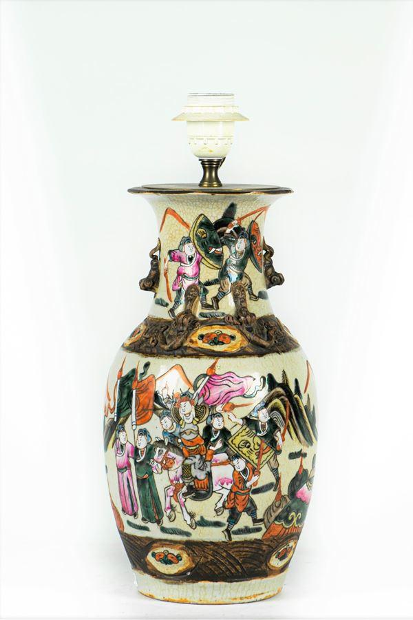 Potiche in porcelain