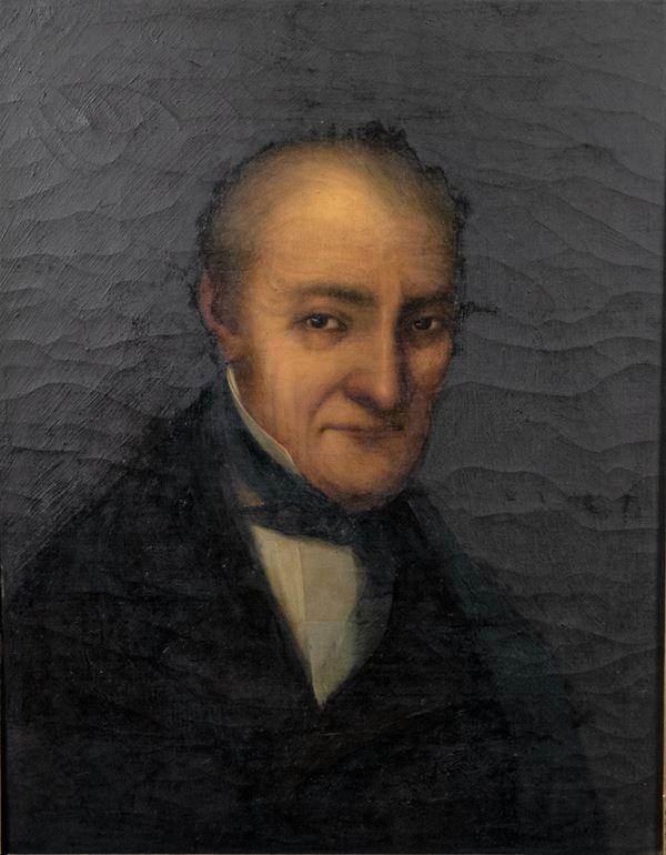 Pittore Italiano XIX Secolo - 'Portrait of a Gentleman'