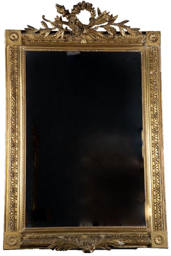 Louis XVI line mirror