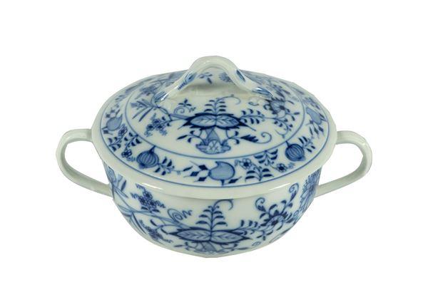Meissen porcelain soup